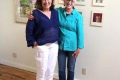 Phyllis Lehman and Laura Breitman